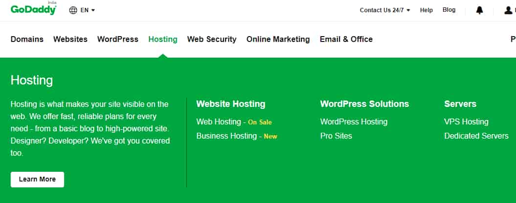 How-to-buy-hosting-from-godaddy